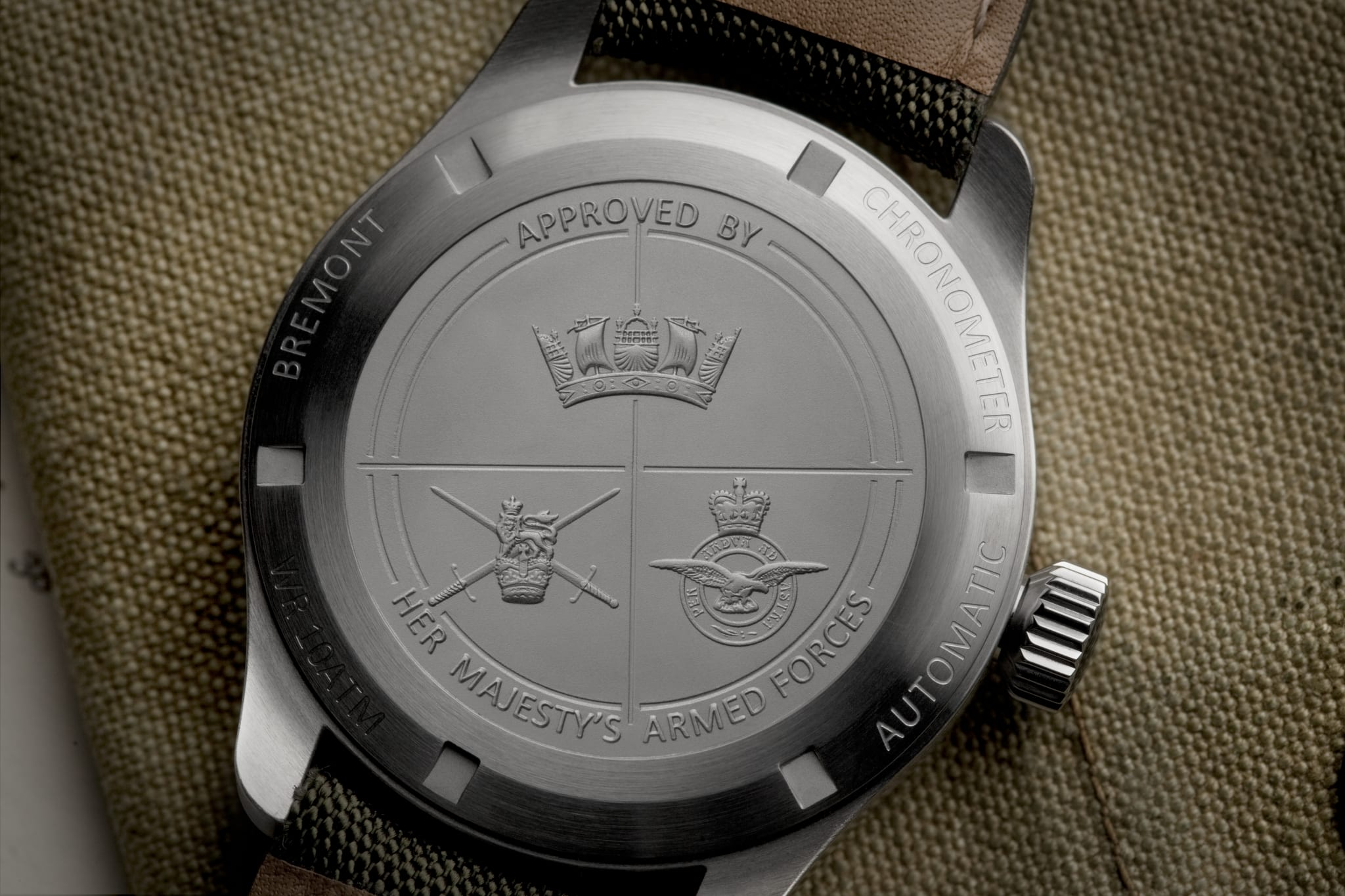 Bremont secures clearance for watches carrying Navy, Army and Air