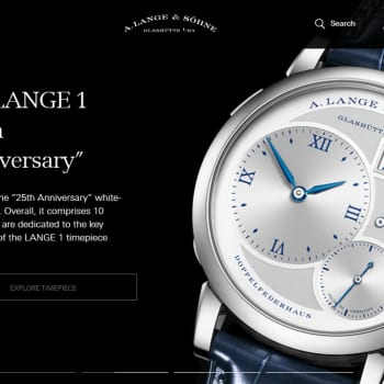 a lange and sohne webstie