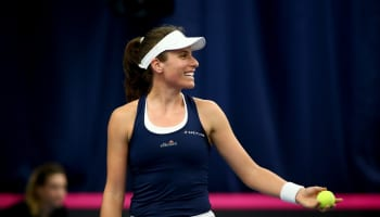Fed Cup Europe and Africa Zone Group I – Day One
