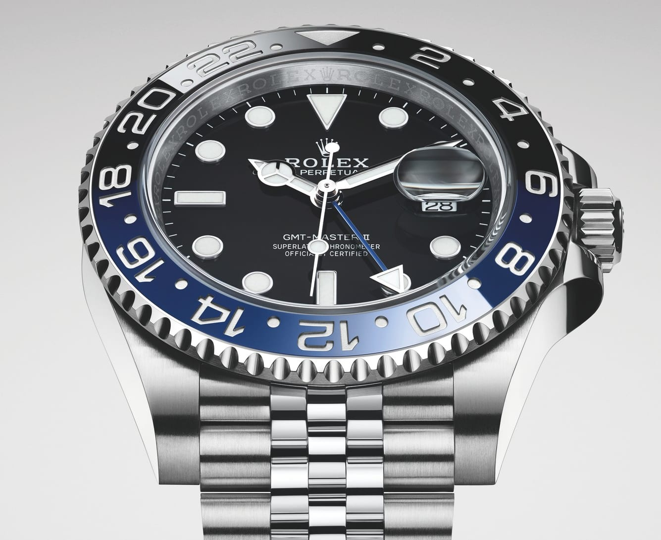 Rolex GMT Master II Black and Blue