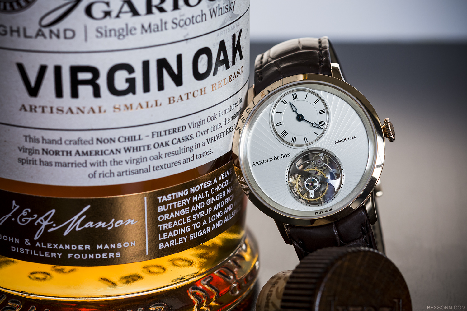 whiskey and watches