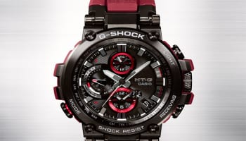 gshock MT-G Red