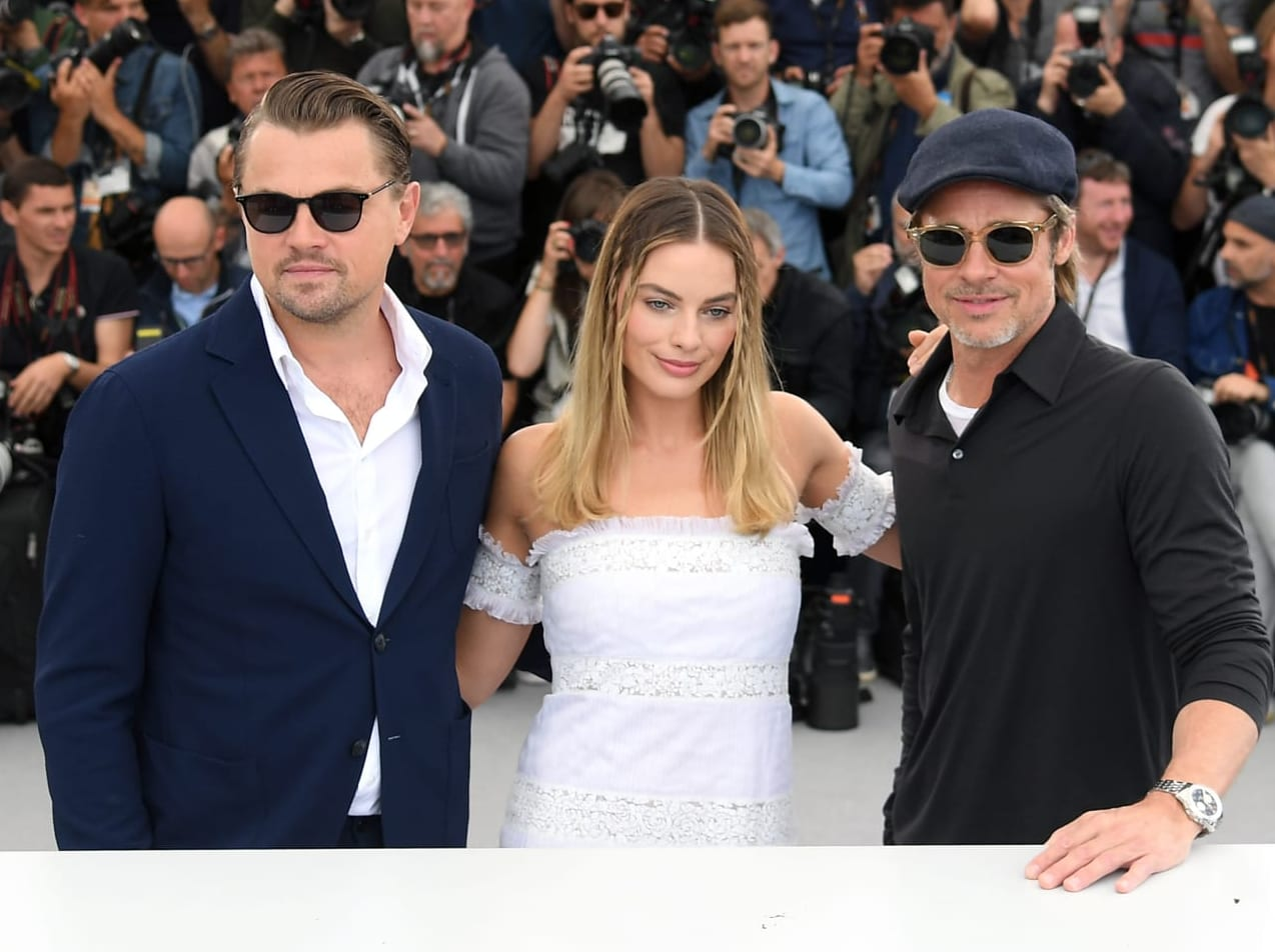 Breitling Cinema Squad Member Brad Pitt at the 2019 Cannes Film Festival Promoting His New Movie 'Once Upon A Time In Hollywood' (8)