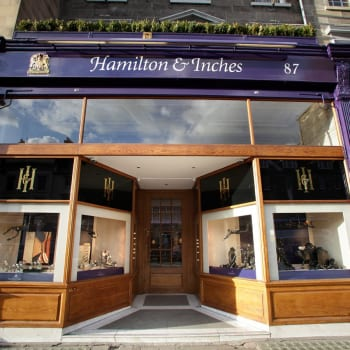 Hamilton and inches storefront