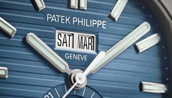 Patek Philippe Nautilus close