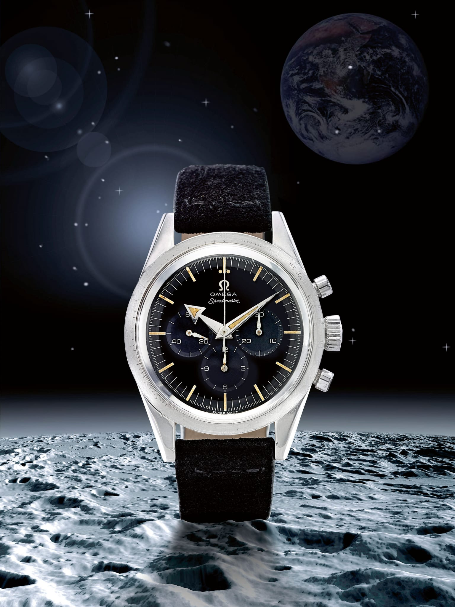 Moonwatch Sale Sets Price Records At Sotheby S 50th Anniversary Moon