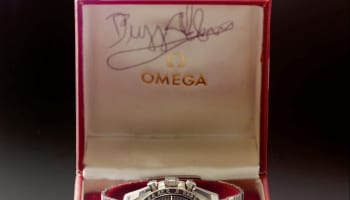 10093 Lot 47 Omega Ref 105.012-65 'Buzz Aldrin'