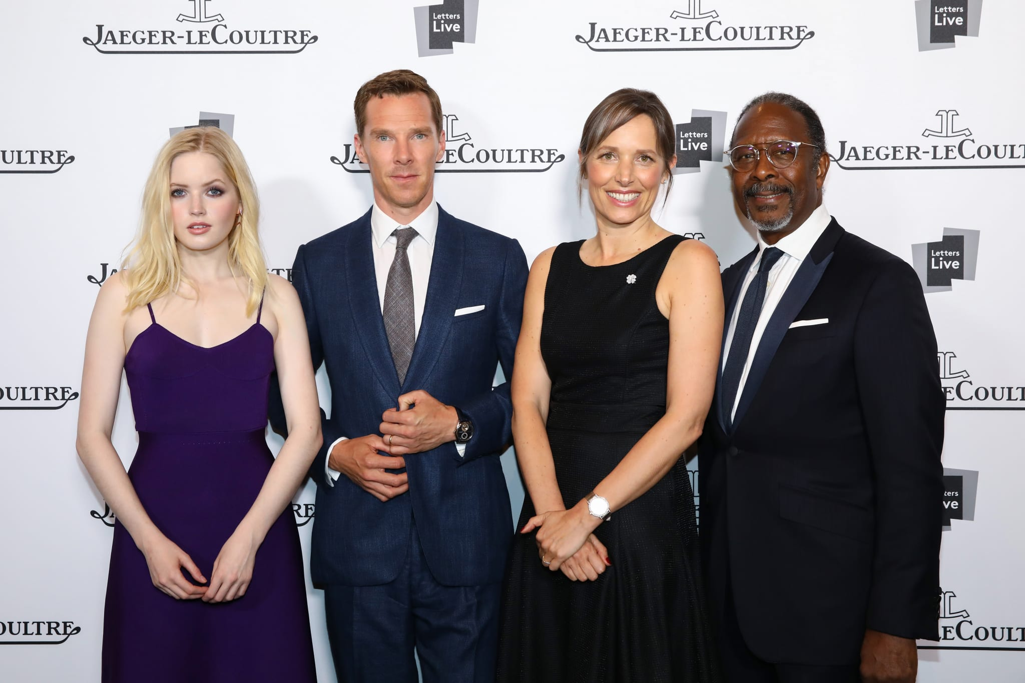 Ellie Bamber, Benedict Cumberbatch, Catherine Rénier and Clarke Peters