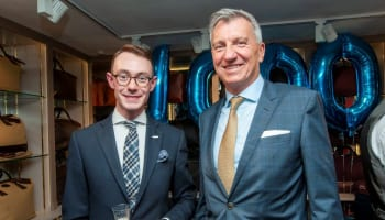 1,000 Days of Fears at Pickett London – 31st July 2019 – (4th) Managing Director, Nicholas Bowman-Scargill with CEO Rolex UK, Richard de Leyser