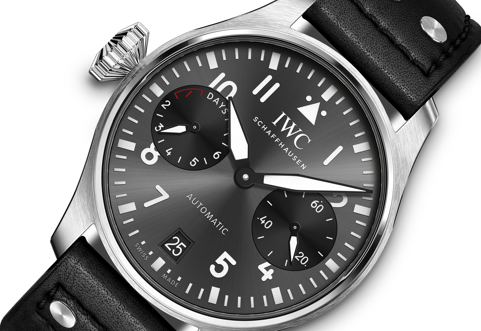 IWC Big Pilot Right Hander