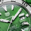 TAG Heuer Aquaracer Green close
