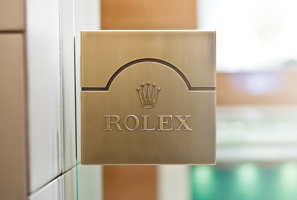 Rolex Glass Door