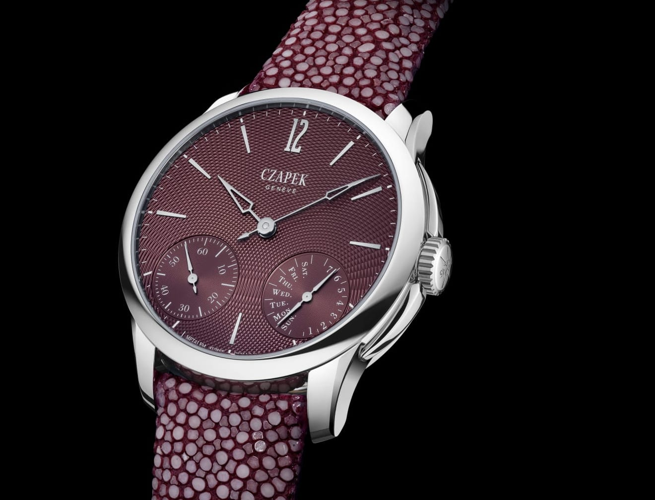 Czapek uses Dubai Watch Week for world-wide launch of rosewood watches
