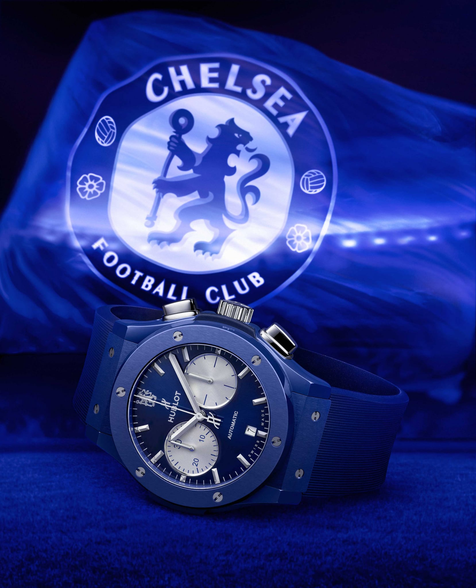 Hublot and Chelsea FC celebrate ongoing partnership with a third limited edition watch