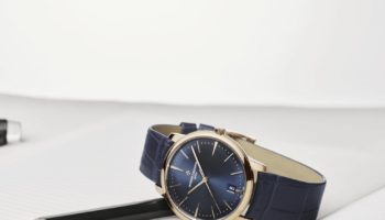 NEW Vacheron Constantin Patrimony Blue – Self-Winding, Small Model (Lifestyle)