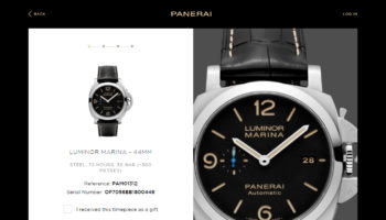 Panerai Pam Guard Verification