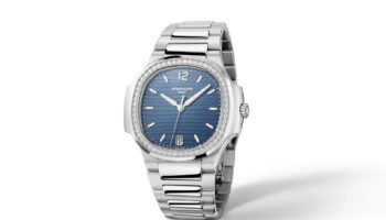 Patek Philippe Ladies Nautilus blue