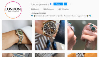 London Jewelers Instagram