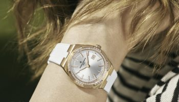 NEW Vacheron Constantin Overseas 33mm in 18k 5N Pink Gold with a Diamond Set Bezel and Rubber Strap – Lifestyle
