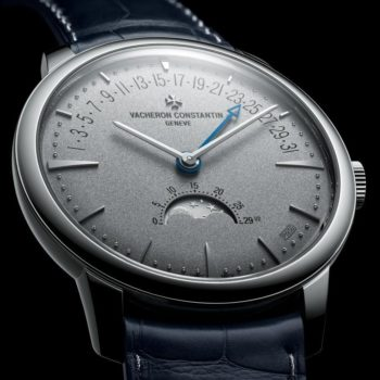 Patrimony moon phase and retrograde date – Collection Excellence Platine